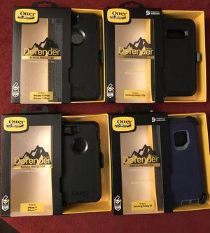 Otterbox defender iPhone 7,8..7,8plus..XS,XR,XS MAX Samsung Galaxy s8,s8+,s9,s9+,s10,s10e,s10+,note8,9 $18 each for Sale in Los Angeles, CA