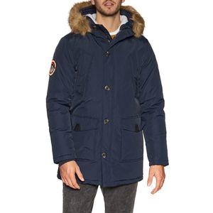 Superdry Everest Parka Jacket Size L Navy Blue for Sale in Silver Spring, MD