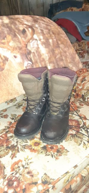 Cabelas 10 inch hunting boots size 9.5 for Sale in Saint Paul, VA
