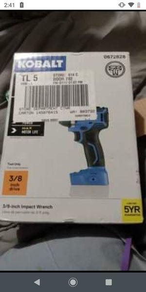 Kobalt 3/8 inch Impact Wrench for Sale in Wichita, KS