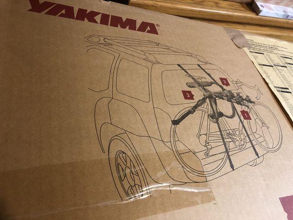 Yakima King Joe Pro 2 bike trunk bike rack