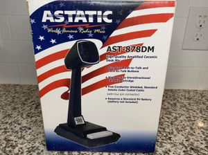 Astatic AST-878DM CB/Ham/10 Meter Radio Desk Base Station Microphone Amplified for Sale in Phoenix, AZ