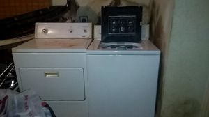 Washer and dryer. Used bt work very well for Sale in Tempe, AZ