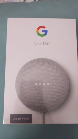 Google Nest mini 2nd generation for Sale in Santa Clara, CA