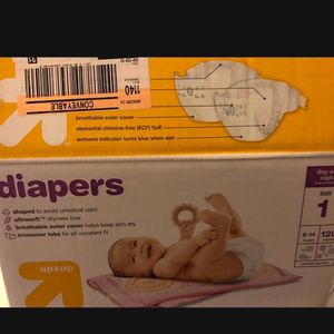 Diaper Baby Size 1 for Sale in San Diego, CA