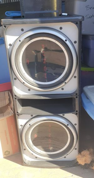 Polk audio Amp and punch speakers for Sale in Phoenix, AZ