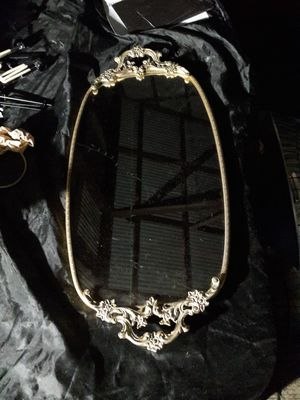 Antique Vanity Mirror Tray Oval for Sale in San Juan Capistrano, CA