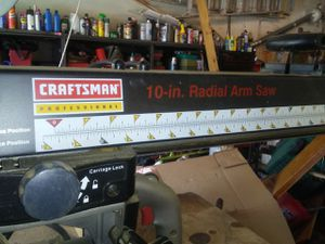 Radial arm saw for Sale in Saint Charles, MO