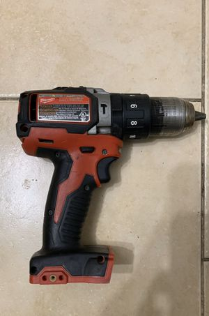 Milwaukee 18V Lithium-Ion Cordless Hammer Driver-Drill,-Drill Batter, fastening and hammer Drilling applications with charger Pick Up Only / No Trade/ for Sale in Sunrise, FL