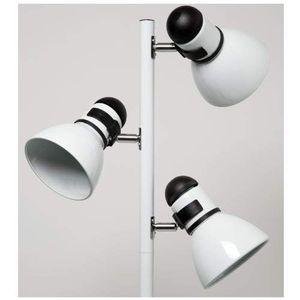 """Three Bulb Floor Lamp with bulbs - 65"""" high, White for Sale in Seattle, WA"""