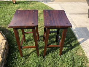 """Bar stools - set of 2 -29"""" height for Sale in Columbus, OH"""