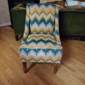 Midcentury Style Chevron Side Chair for Sale in Fairfax, VA