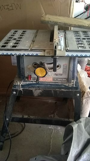 Ryobi 10 in table saw for Sale in Columbus, OH