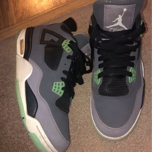 Air Jordan retro tea leaf green #4's for Sale in Indianapolis, IN