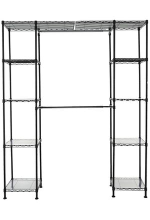 Expandable Metal Storage Rack, Black for Sale in Brooklyn, NY