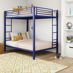 DHP Full Over Full Metal Bunk Bed New in Box (Blue) for Sale in Las Vegas, NV