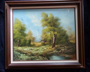 Vintage signed and certified Harnett painting for Sale in Manchester, MO