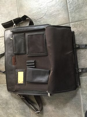 Leather briefcase for Sale in Medfield, MA