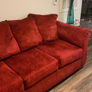 Red Couch for Sale in Cumming, GA