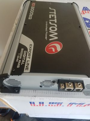 Stetsom 8k at 1 ohm amp for Sale in Mt. Juliet, TN