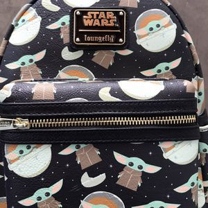 Disney Loungfly Baby Yoda Backpack for Sale in San Dimas, CA