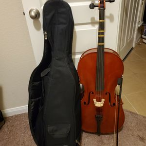 1/2 Size Cello by Fishburn Violin. for Sale in Cypress, TX