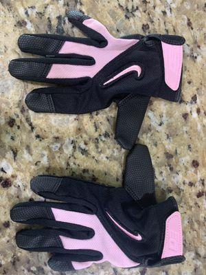 Nike baseball/softball gloves- Pink/Black for Sale in Pembroke Park, FL