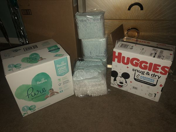 394 Diapers for Sale!!