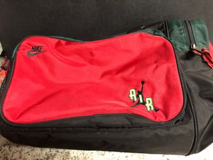Vintage 90s Nike Air Jordan Duffle Gym Bag Michael Jordan for Sale in Vancouver, WA