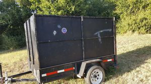 Trailer 8x5ft x5ft height for Sale in Fort Worth, TX