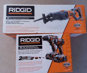 3 Tool Drill Saw kit + FREE Tool box - NEW IN BOX for Sale in Tempe, AZ