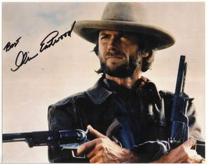 "Clint Eastward – Josey Wales – 8 1/2"" x 11"" photograph signed for Sale in Rockville, MD"