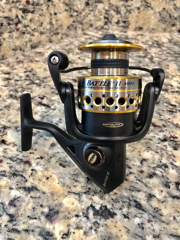 New Penn Battle II 4000 Fishing Reel