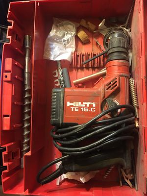 HILTI TE 15C hammer drill for Sale in Rosedale, MD