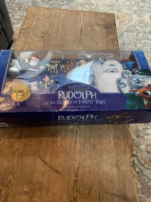 Rudolph Figure Collection- limited Edition for Sale in Ravenna, OH