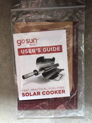 Brand new go sun solar cooker for Sale in Wexford, PA