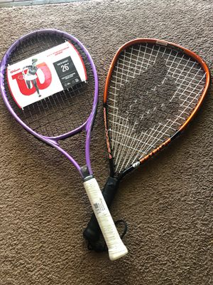 Tennis and racket ball racket for Sale in Los Alamitos, CA