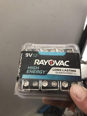 9v batteries. New. for Sale in Henderson, NV