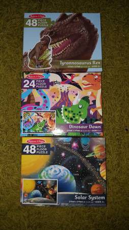 3 melissa and Doug puzzles for Sale in Sanford, NC