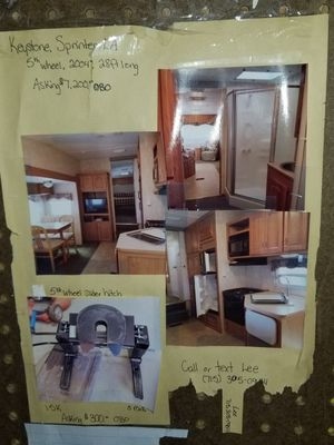 5th wheel camper for Sale in Rudolph, WI