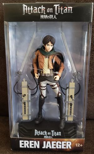 """Mcfarlane Toys Attack on Titan EREN JAEGER 7""""inch Action Figure Anime Manga Edition for Sale in San Diego, CA"""