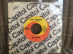 "The Beatles ""Lady Madonna"" 7"" Single for Sale in Menifee, CA"