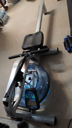 Rowing Machine Ergometer H20 Fitness Quiet & Easy! for Sale in Fort Lauderdale, FL