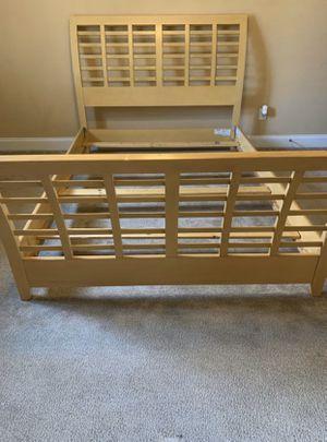 Light Wood Bed Frame for Sale in Grovetown, GA