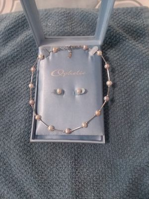 Ophelia Pearl Necklace Set for Sale in Menasha, WI