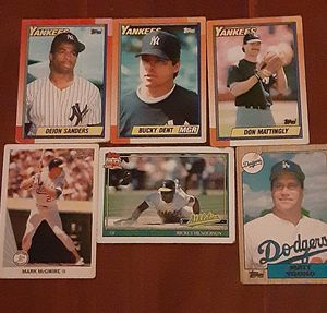 Good condition baseball cards $$ for Sale in Brooklyn, NY