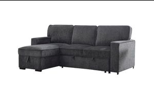 Sectional sofa Reversible Sleeper Sofa & Chaise for Sale in Eastvale, CA
