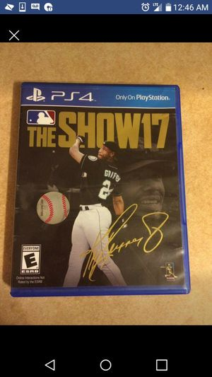 Mlb the show 17 for Sale in St Louis, MO