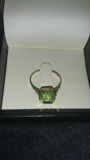 14k Citroen gold ring for Sale in Portland, OR