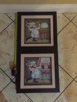 Chef Wall Decor for Sale in Bakersfield, CA